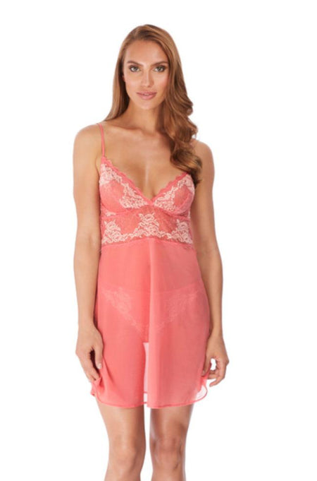 Lace Perfection Chemise (Slate)