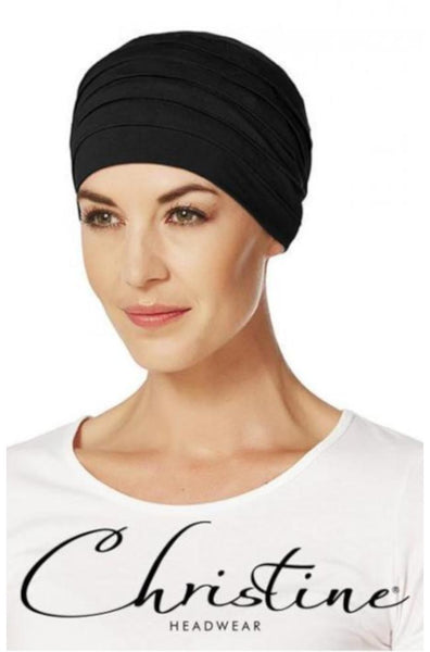 Yoga Bamboo Turban (Black)