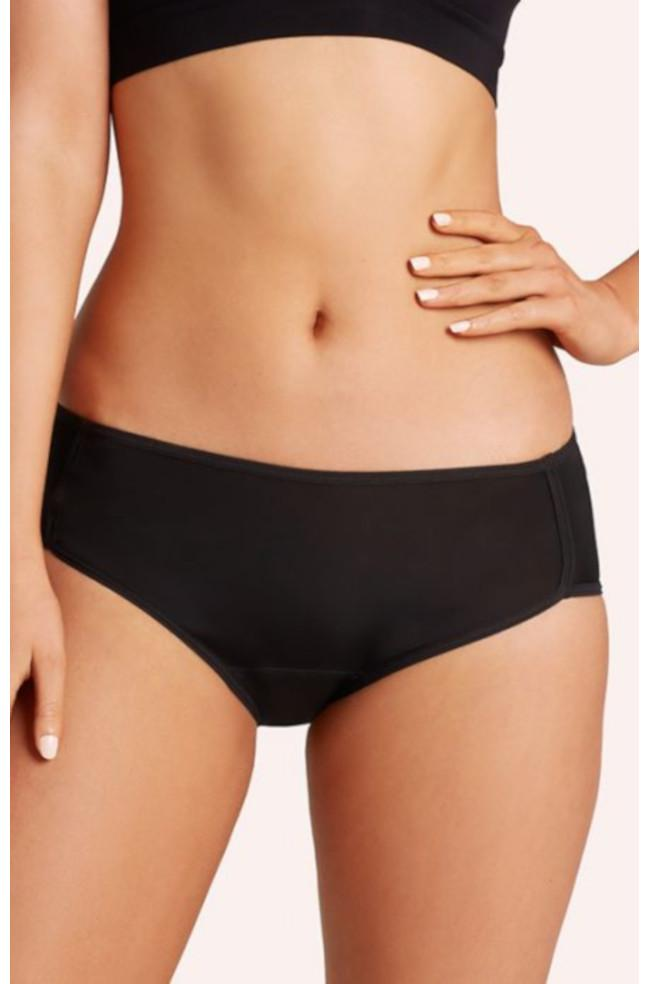 Love Luna Period Mid Briefs (Black or Nude)