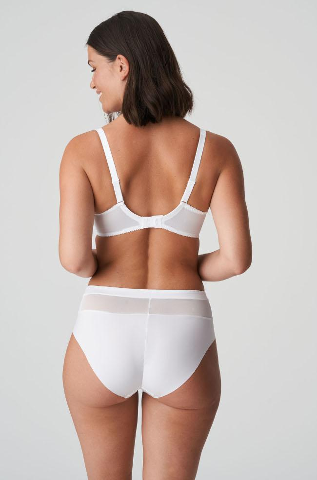 Sophora High Waist Brief (White)
