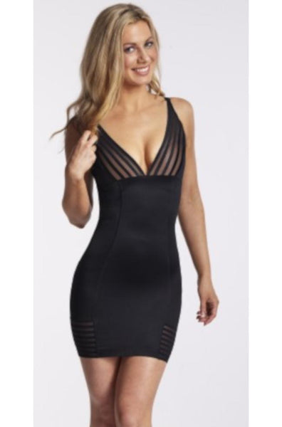 Plunging Shaping Slip Multi-way Straps (Black or Nude)
