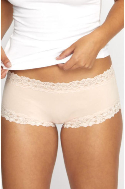 Parisienne Cotton Boyleg Brief (Dusk)