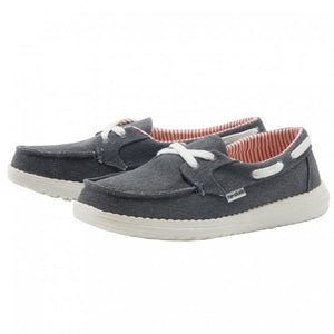 Dude Ladies Lily Navy Comfort Shoe