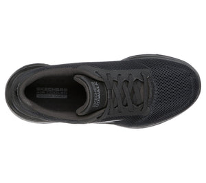 Skechers 15902/BBK Black Womens Casual Comfort Lace Up Trainers