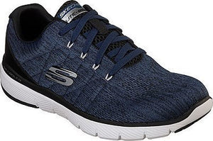 Skechers 52957 BLBK Blue Black Mens Casual Sporty Trainers