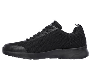 Skechers 232007/BBK Black Mens Casual Comfort Lace Up Trainers