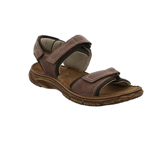 Josef Seibel Carlo 06 Brasil Men's Leather Sandal Adjustable Straps Sandals