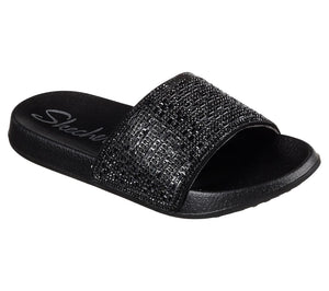 Skechers 31546 BBK Womens Casual Slides Shoe Centre Dawlish