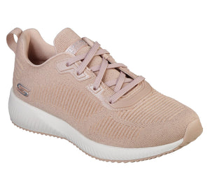 Skechers 32502 LTPK Light Pink Women's Sporty Sparkle Casual Comfort Trainers