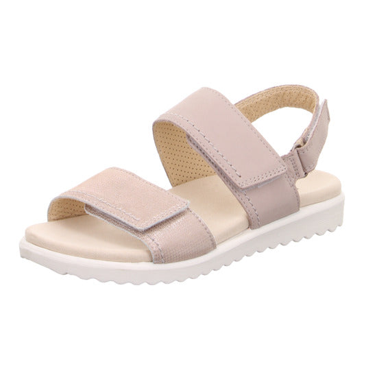 Legero 4-00708-56 Pink Sandals Touch Fastening Straps Open Toe