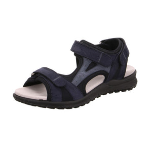 Legero 4-00732-80 Pacific Open Toe Sandals Touch Fastening Straps
