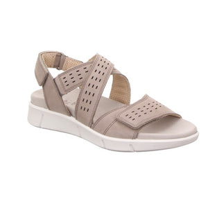 Legero 4-00740-29 Fano Griffin Beige Womens Casual Comfort Sandals