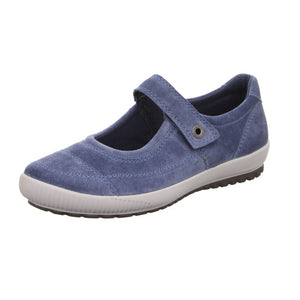 Legero 4-00822-86 Blue Indaco Mary Jane Style Shoes Touch Fastening