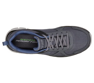 Skechers 52631/GYNV Grey Mens Casual Comfort Lace Up Trainers
