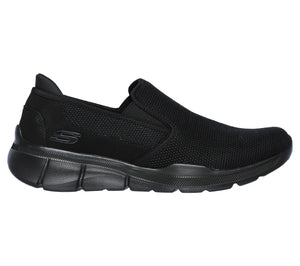 Skechers 52937/BBK Black Mens Casual Slip On Athletic Walking Shoes