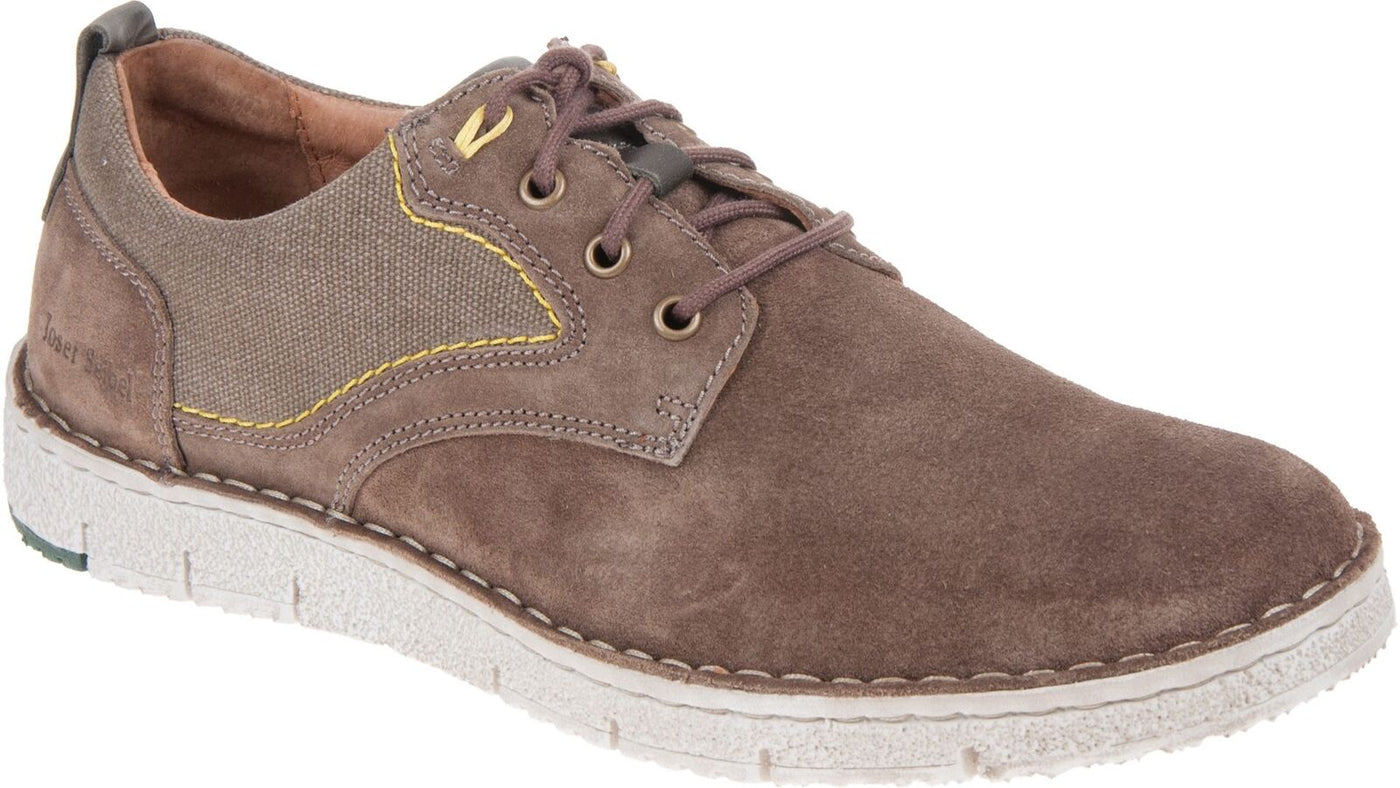 f984bb8eed99e Josef Seibel Ruben 01 Taupe-Kombi Men's Leather Lace Up Shoes – The Shoe  Centre