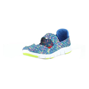 Heavenly Feet Womens Ladies Girls Lollipop Sporty Woven Casual Shoes Ocean Multi