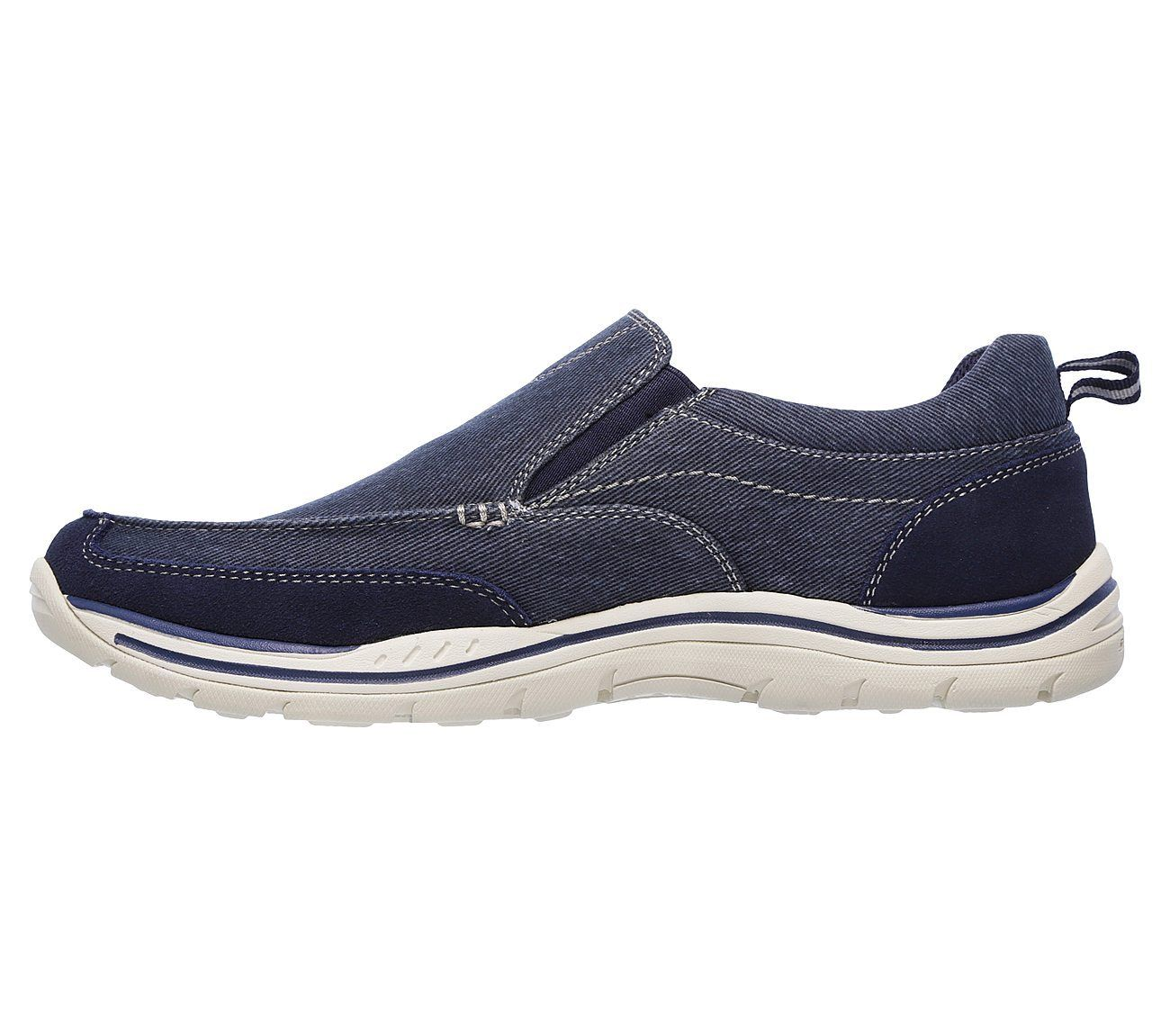 Skechers Expected Tomen Mens Casual Slip On Memory Foam Shoes