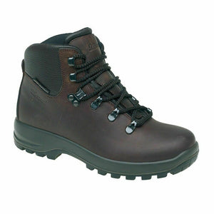 Grisport Hurricane Womens Ladies Walking Hiking Boots Real Leather Comfy Brown