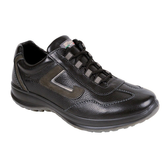 Grisport Hamilton Mens Comfortable Leather Lace Up Lesuire Walking Shoes Black