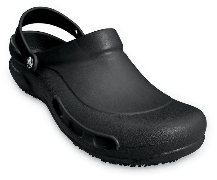 Crocs Bistro Mens Ladies Unisex Slip On Clog Work Shoe Chef Shoes Black