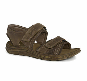Josef Seibel Raul 19 Castagne/Brasil Men's Touch Fastening Leather Sandals