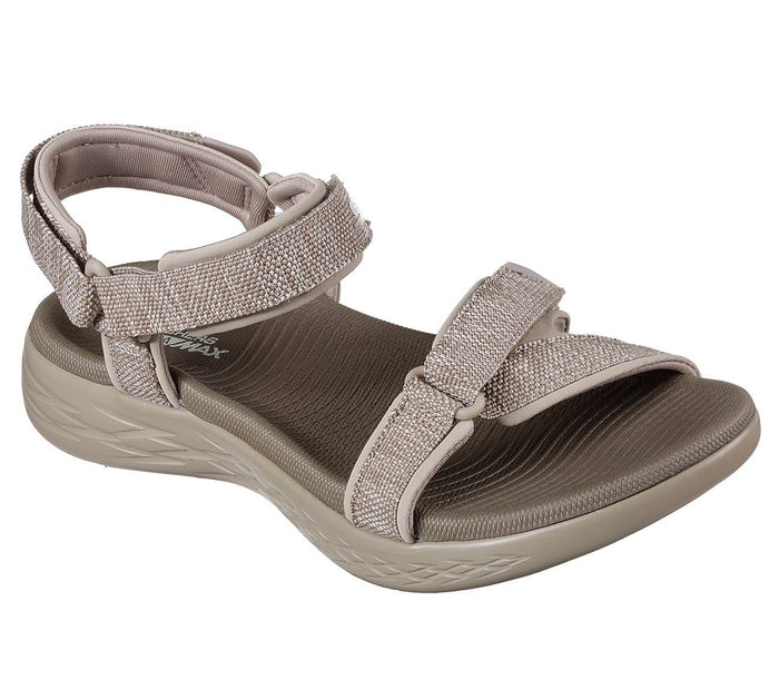 Skechers 15315/TPE Taupe Womens Sporty Casual Walking Sandals
