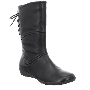 Josef Seibel Naly 07 Women's Smart Stylish Comfy Black Real Leather Calf Boots