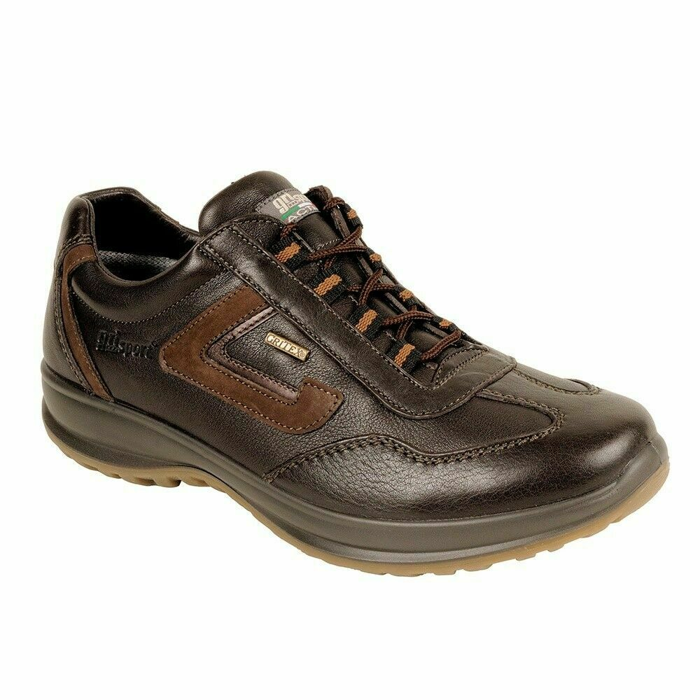 4618ea0ac8d Grisport Hamilton Mens Comfortable Leather Lace Up Lesuire Walking Shoes  Brown