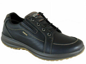 Grisport Ayr Black Mens Leather Active Shoes Lace Up Breathable Comfy Walking
