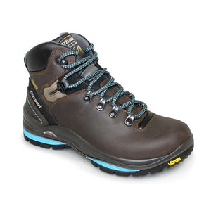 Grisport Lady Glide Womens Walking Hiking Boots Leather Waterproof Brown