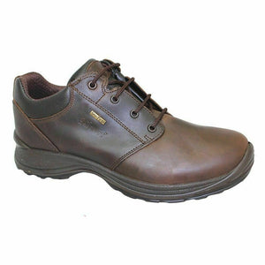 Grisport Exmoor Brown Mens Lace Up Walking Shoes Leather Breathable Waterproof