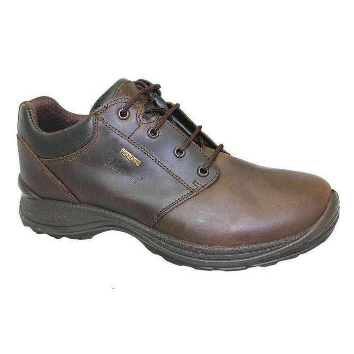 Grisport Exmoor Brown Mens Waterproof Leather Walking Shoes