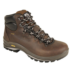 Grisport Fuse Mens Walking Hiking Boots Leather Waterproof Lightweight Brown