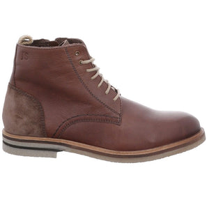 Josef Seibel Stanley 01 Brown Mens Real Leather Casual Suede Zip Ankle Boots