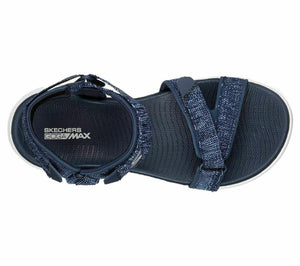 Skechers 15315/NVW Navy Womens Sporty Casual Walking Sandals
