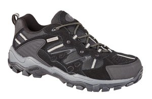 Northwest Territory Reliance Black Mens Casual Comfort Waterproof Walking Shoes