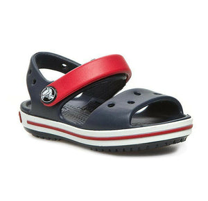 Crocs Crocband Sandals Navy Red Kids Casual Beach Children's Summer Shoes Crocs