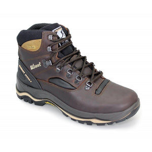Grisport Quatro Brown Mens Walking Hiking Backpacking Boots Shoe Lace Up Leather