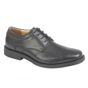 Tredflex TF3951A Black Mens Genuine Leather Lace Up Smart Formal Work Shoes