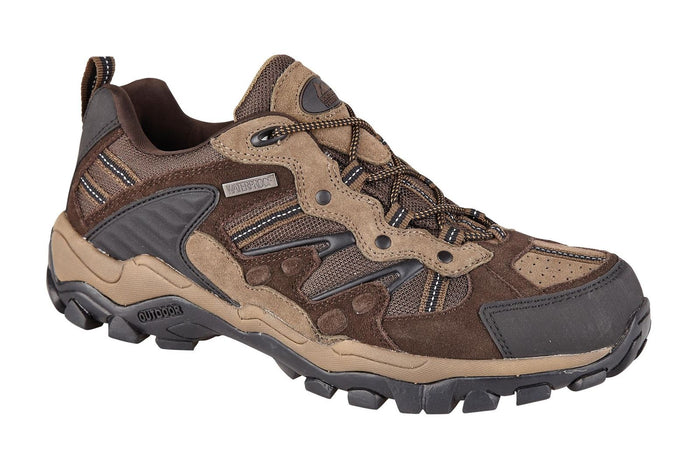 Northwest Territory Reliance Brown Mens Casual Comfort Waterproof Walking Shoes