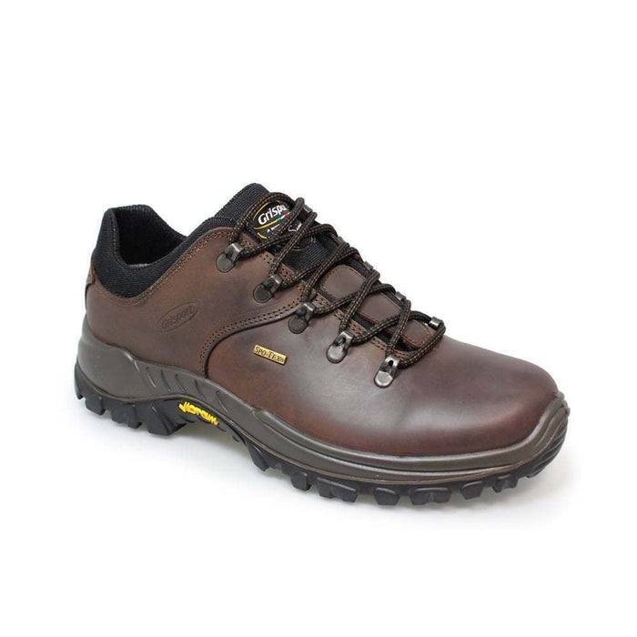Grisport Dartmoor Brown Mens Womens Comfortable Leather Walking Lace Up Shoes