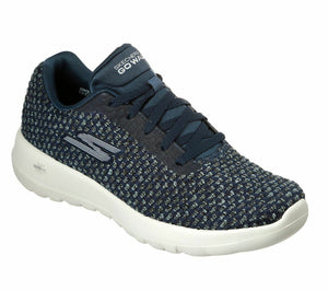 Skechers 15617 Teal Go Walk Joy Womens Lace Up Fitness Gym Walking Trainers Knit
