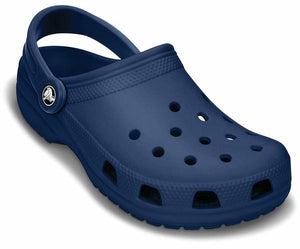 Crocs Classic Clog Kids Boys Girls Casual Comfy Slip On Navy
