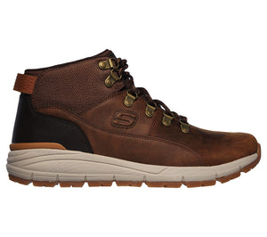 Skechers 66180/CDB Brown Mens Casual Comfort Sporty Trainer Boots