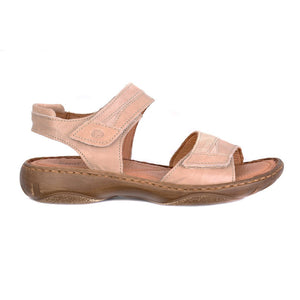 Josef Seibel Debra 19 Beige Womens Casual Comfort Leather Sandals