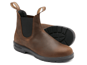 Blundstone 1609 Antique Brown Unisex Premium Leather Stylish Chelsea Boots