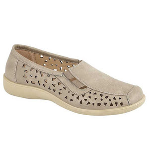 Boulevard L130S Stone Womens Casual Comfort Shoes