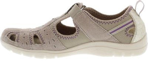 Earth Spirit Cleveland New Khaki Womens Casual Touch Fastening Suede Shoes