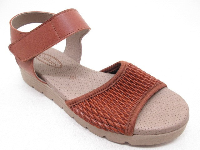 Corkies 17Z060 Cognac Womens Casual Comfort Sandals